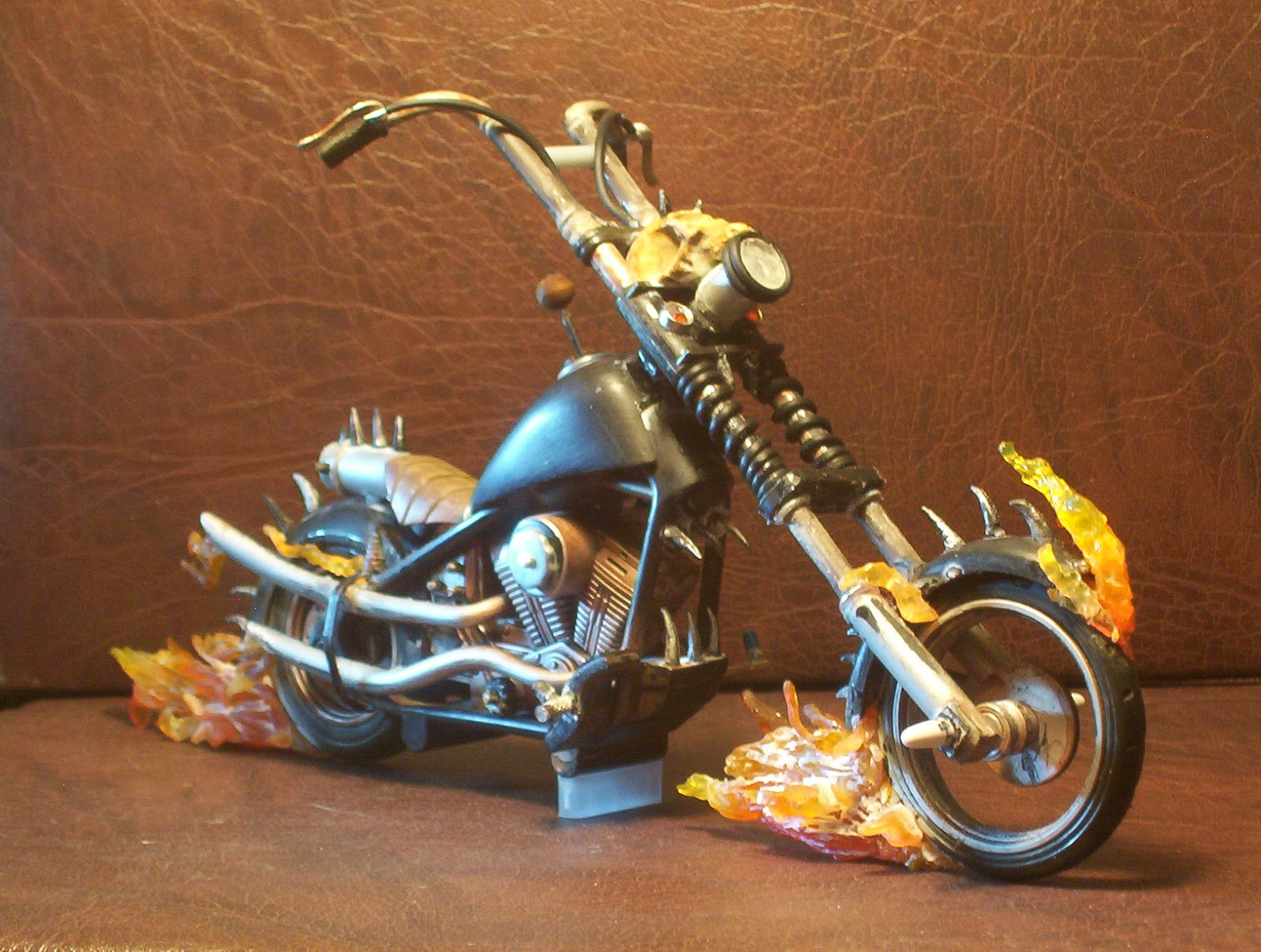 Funny Pictures Gallery: Ghost rider bike, ghost rider bike ...