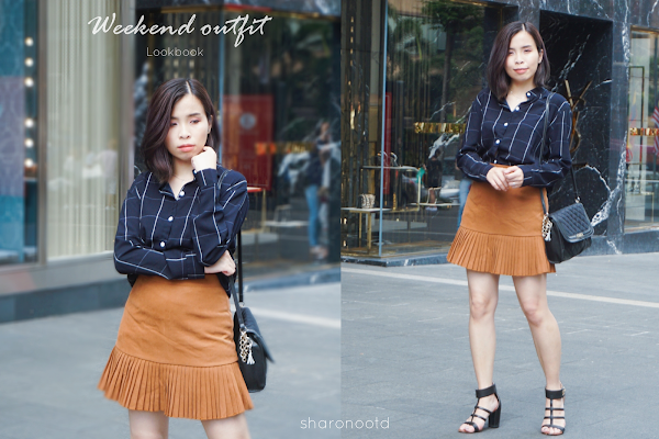 Sophisticated Look Weekend Outfit #67