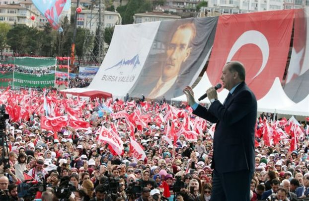 Ο Ερντογάν θάβει το κράτος του Κεμάλ