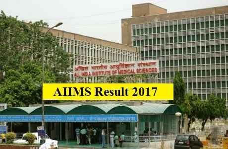AIIMS MBBS Result 2017 will be declared today, See here