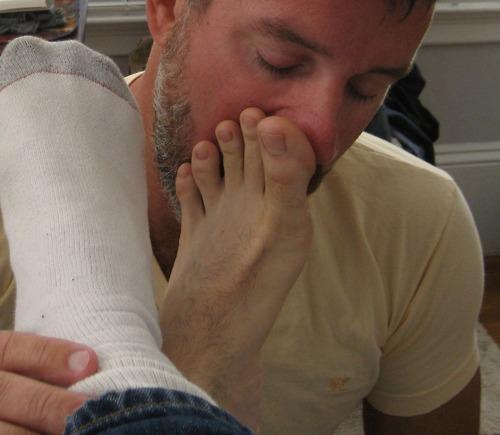 Feet Sniff 53