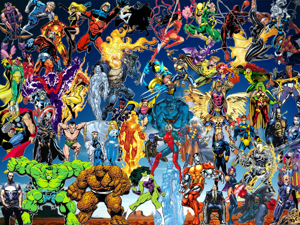 Free wallpapers blog marvel comics wallpaper hd - All marvel heroes wallpaper ...