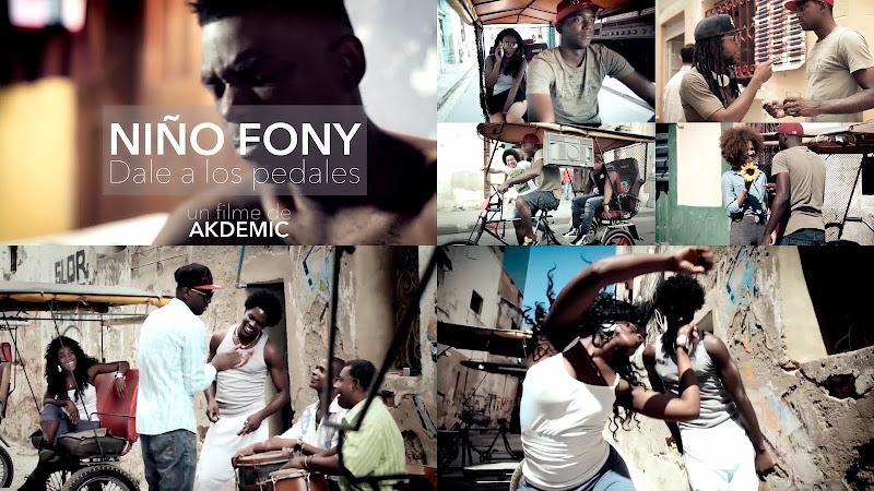 Niño Fony - ¨Dale a los pedales¨ - Videoclip - Dirección: Akdemic. Portal del Vídeo Clip Cubano