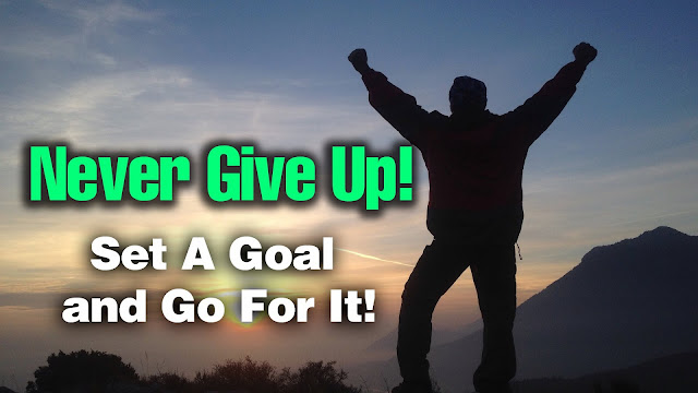 Kunci Sukses - Jangan pernah menyerah