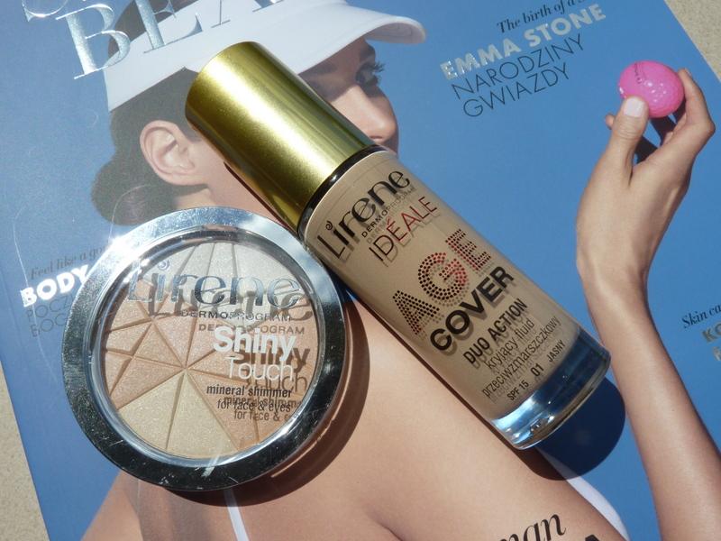 Lirene Ideale Age Cover Fluid - podkład przeciwzmarszczkowy czyli nowy bohater w mojej kosmetyczce