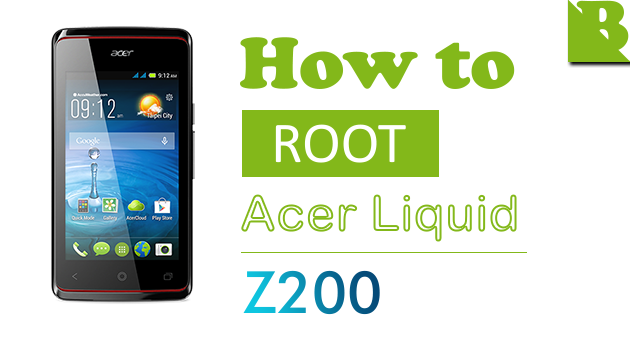 How To Root Acer Liquid Z200 And Install Custom Recovery