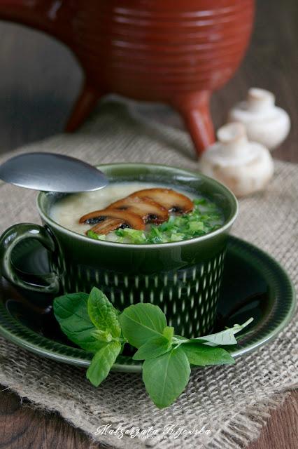 obiad, zupa, zupa-krem, krem z białych warzyw