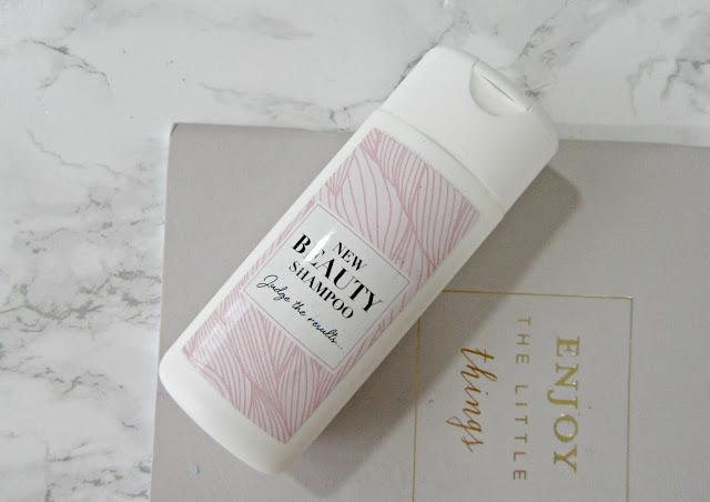 Glossybox mystery shampoo
