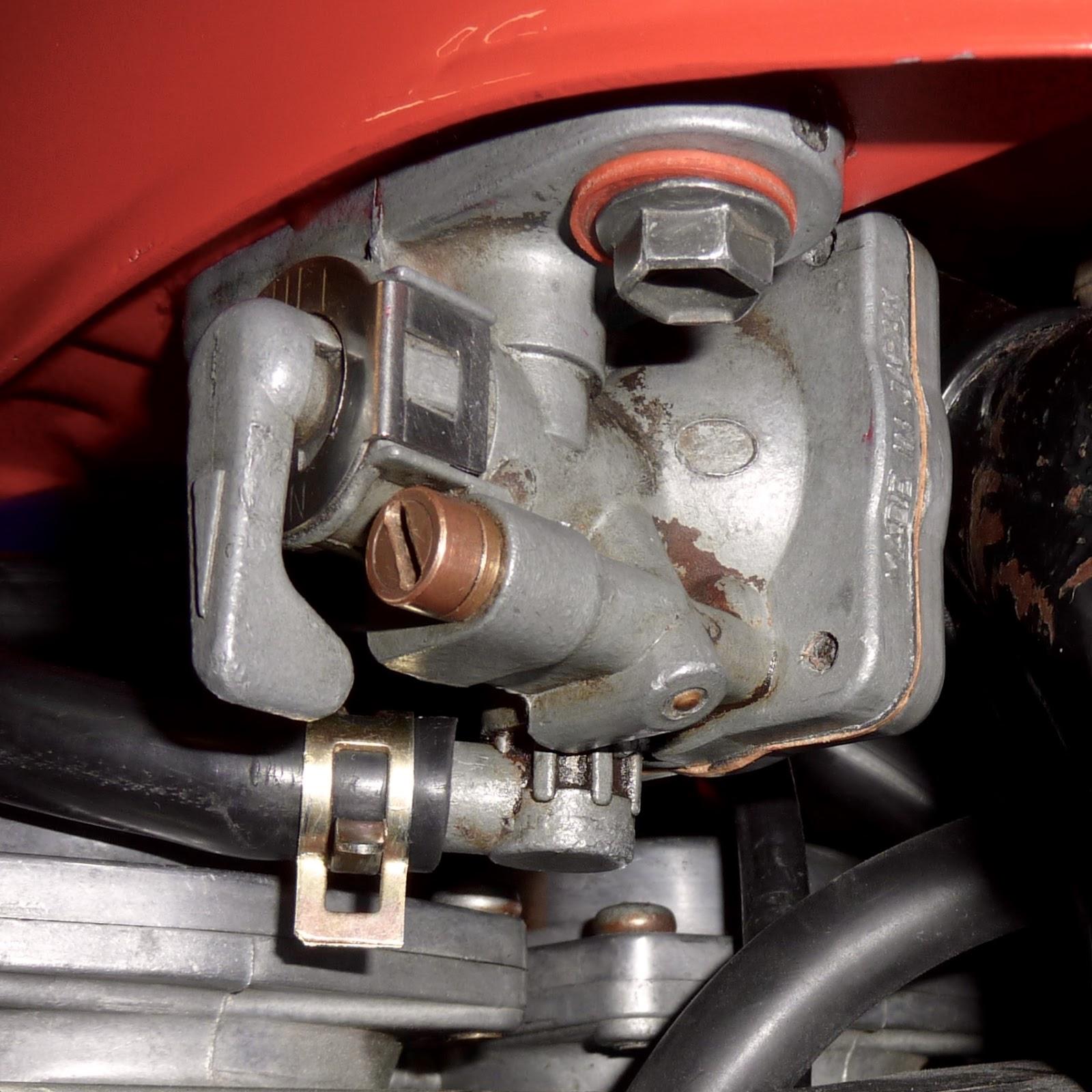 BikeTech7: Suzuki GS550 Petrol Tap Overhaul