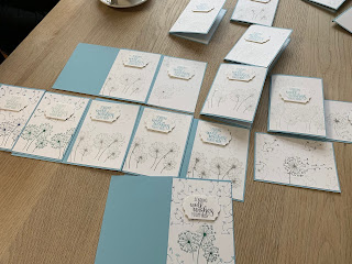 Dandelion Wishes, Coffee and Cards