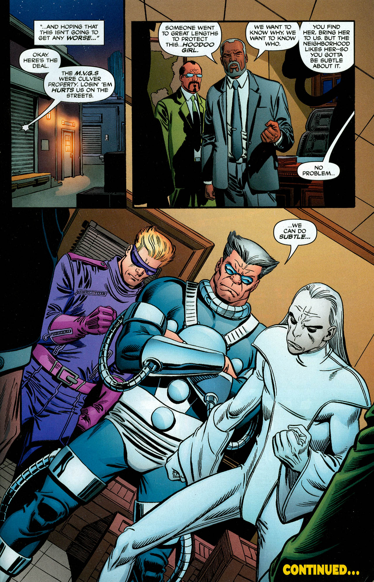 Read online Trinity (2008) comic -  Issue #4 - 29