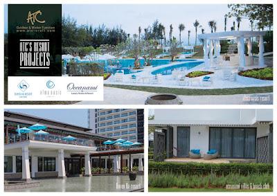 ATC Outdoor Furniture Supplier Best Resort Furniture Brand