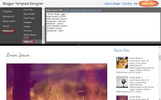 Cara Otomatis Perkecil Gambar Di Blog