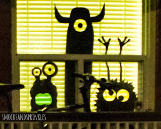 spooky monster decorations