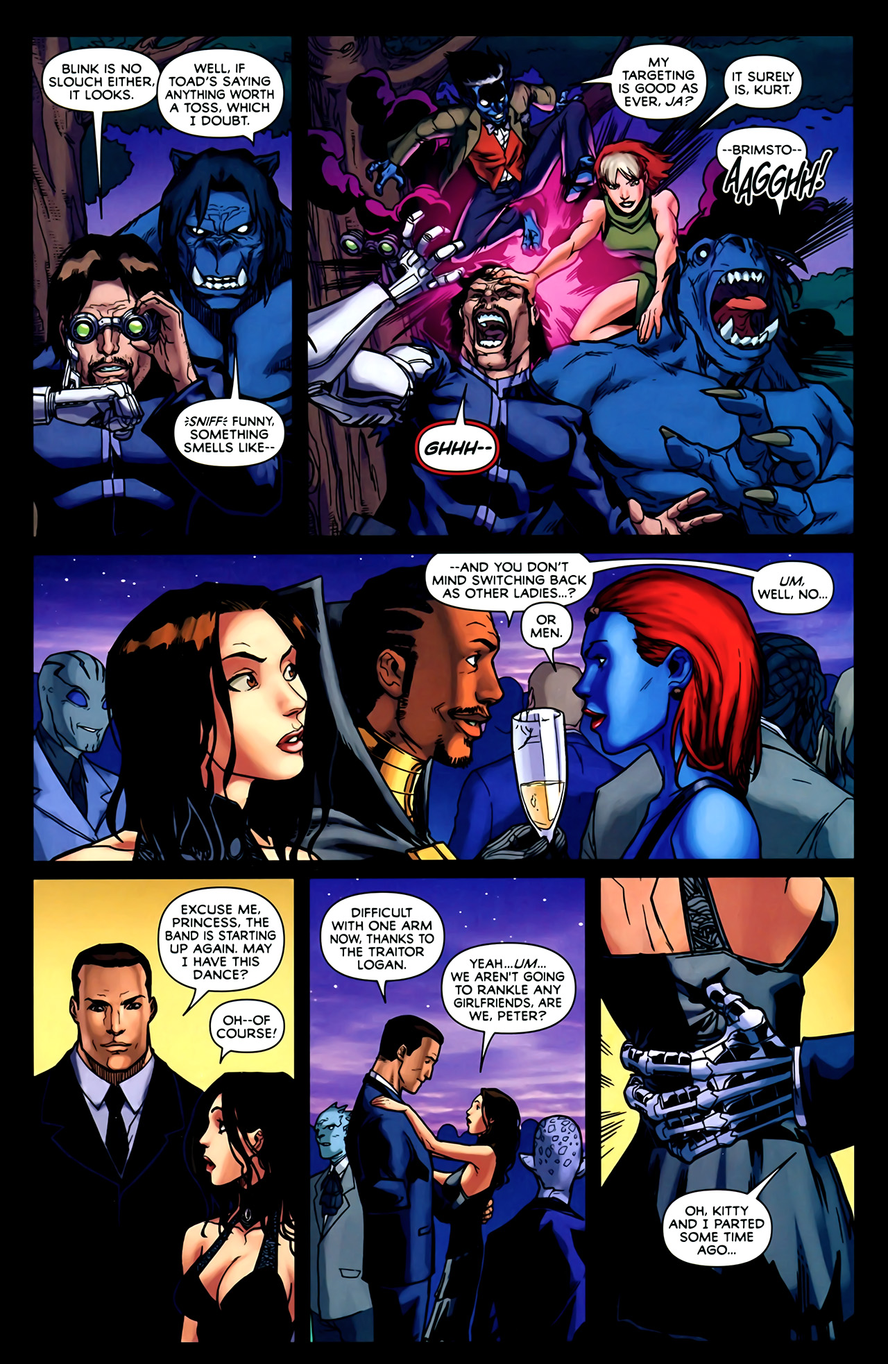 Read online Exiles (2009) comic -  Issue #2 - 20