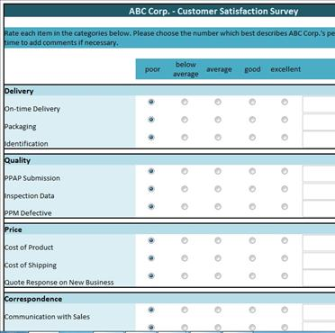 Survey Template Download. Free Survey Template Download Customer