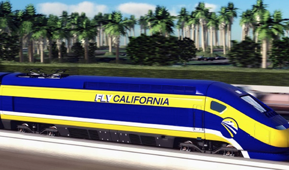 A(nother) funny thing happened on the way to California's bullet train paradise