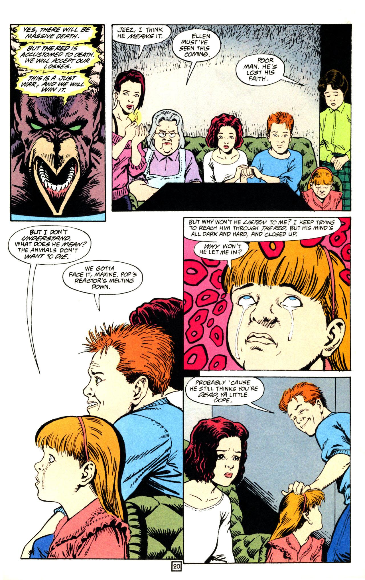 Read online Animal Man (1988) comic -  Issue #71 - 21