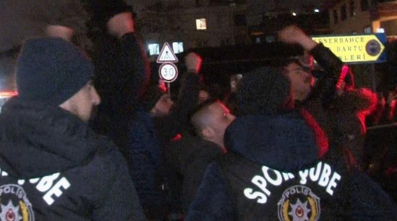 Fenerbahçe tarftarı Samandıra'yı bastı!