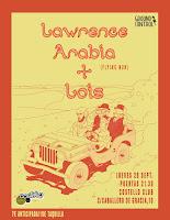 Concierto de Lawrence Arabia y Lois en Costello Club