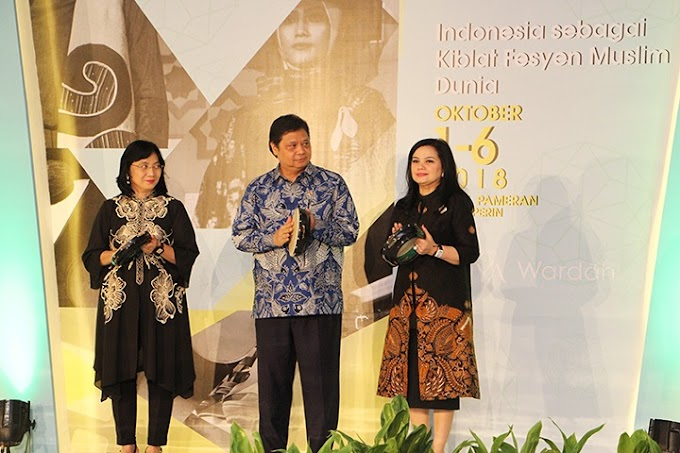 IKM Berperan Penting Bikin Indonesia Jadi Kiblat Fesyen Muslim Dunia