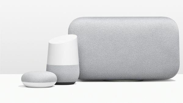 جوجل تكشف عن جهازي Home Max وHome Mini