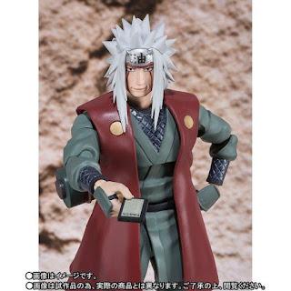 S.H.Figuarts Jiraiya de Naruto Shippuden - Tamashii Nations