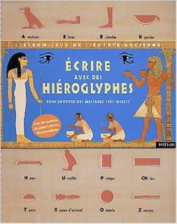 Ecrire avec des hiéroglyphes