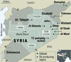 Syrien wirft USA absichtliche Bombardierung seiner Ölfelder vor
