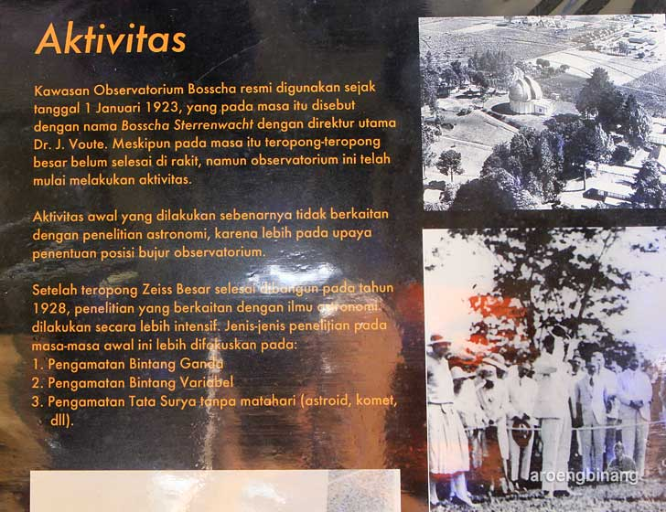 observatorium bosscha lembang