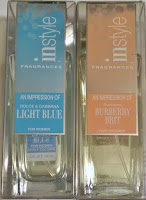 InStyle designer fragrance dupes LIGHT BLUE Dolce Gabbana BURBERRY BRIT perfumes