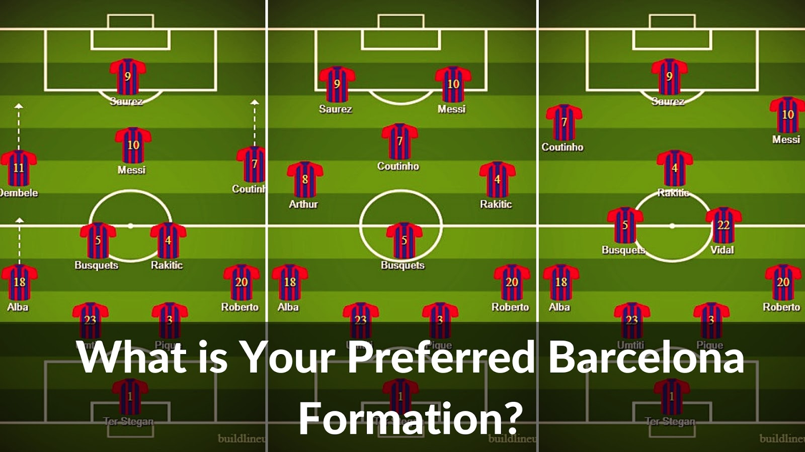 What is your preferred FC Barcelona formation? #barca #barcelona #fcbarcelona