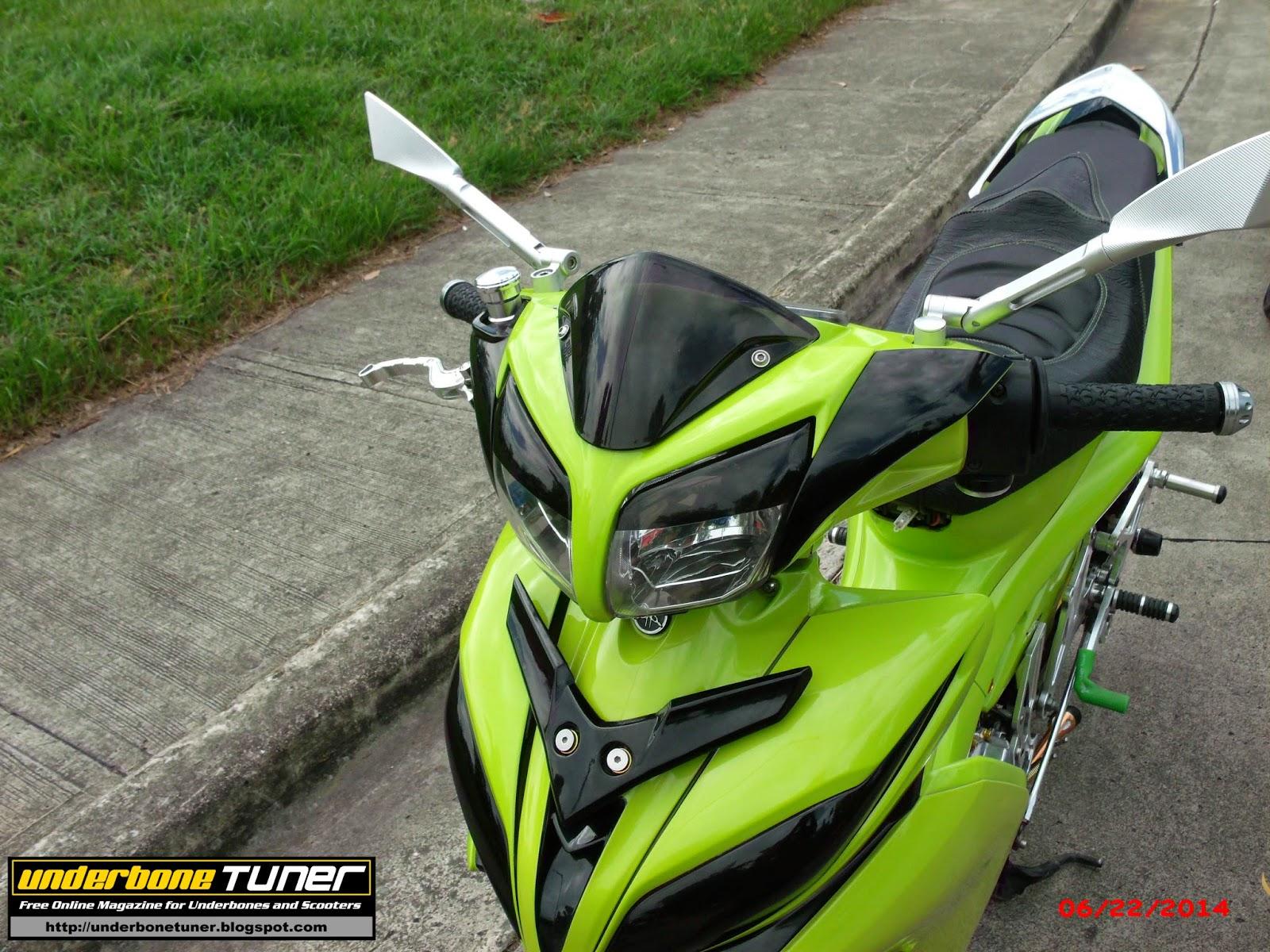 Underbone Tuner: Modified Yamaha Vega Force: Nascar