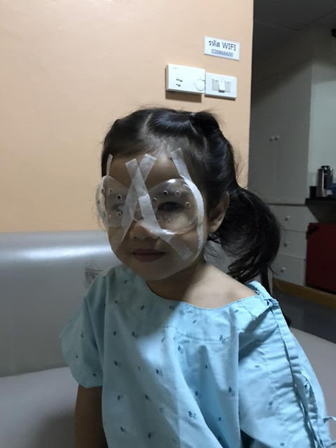 Girl Undergoes Eye Surgery Because Of Her Father's Phone