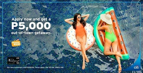 Grab this Exciting Offer from Citibank and TravelBook.ph | Press Release