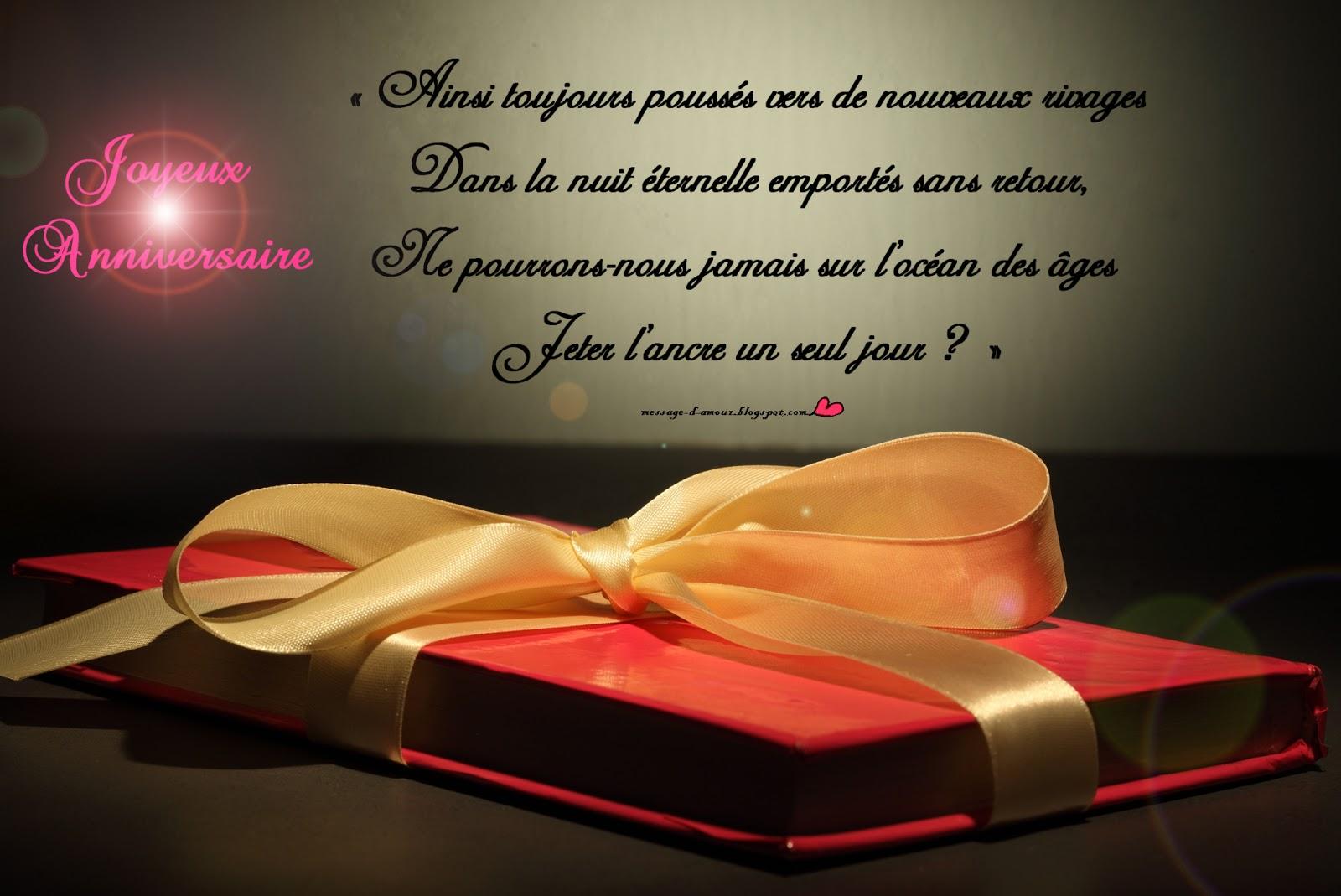 Poème Amour Poésie Et Citations 2019 Texte Anniversaire