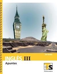 Libro de texto Telesecundaria Inglés Apuntes Tercer grado 2019-2020