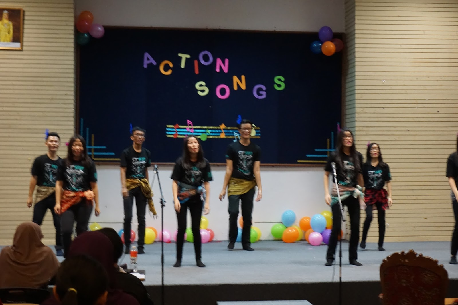 Action Song Competition @IPBA English Carnival