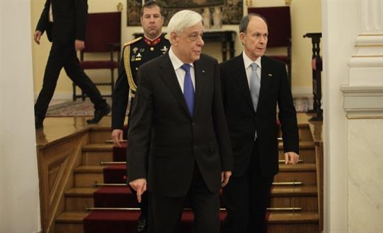 Προεδρικό Μέγαρο: Ετήσια δεξίωση προς τιμήν του Διπλωματικού Σώματος....
