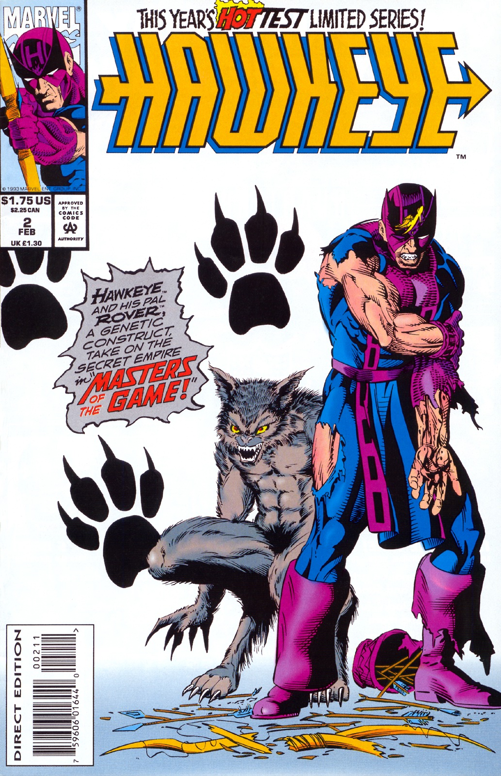 Hawkeye (1994) Issue #2 #2 - English 1