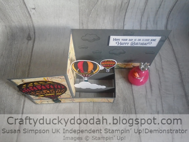 Craftyduckydoodah!, Lift Me Up, Stampin' Up! UK Independent  Demonstrator Susan Simpson, Supplies available 24/7 from my online store, Up & Away Thinlets Dies,