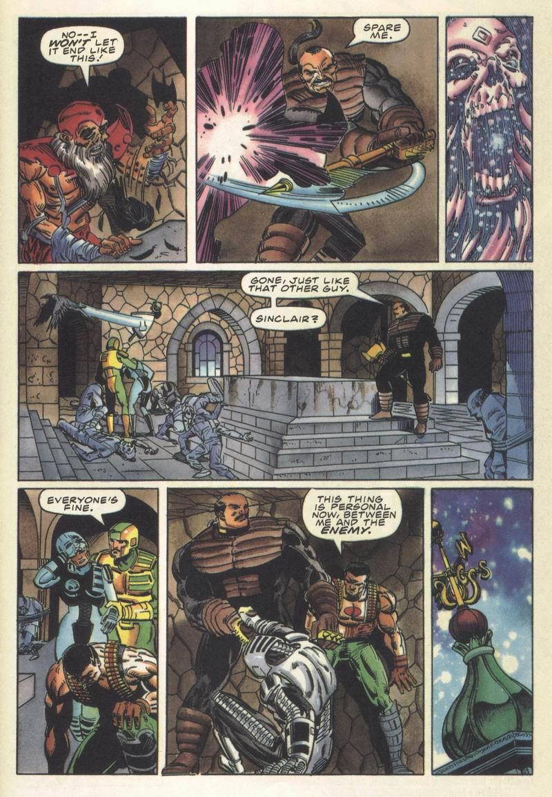 Read online Secret Weapons comic -  Issue #13 - 21