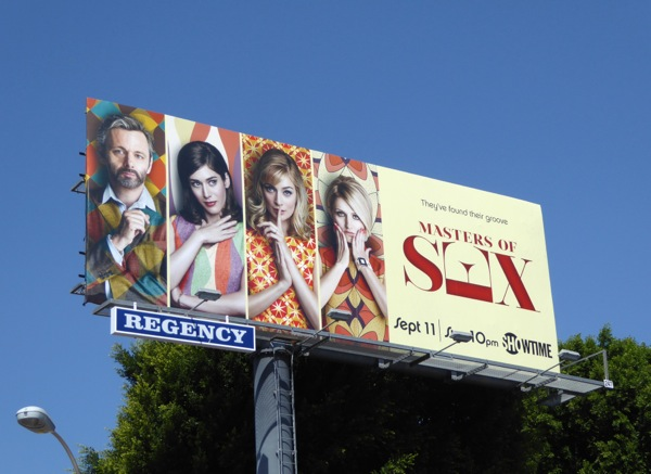 Masters of Sex season 4 Showtime billboard