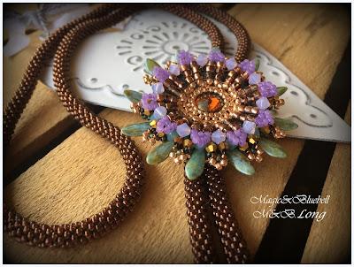 Passion flower pendant
