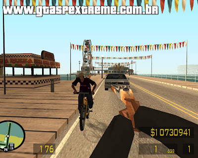 FPS Counter Strike Mod para GTA San Andreas