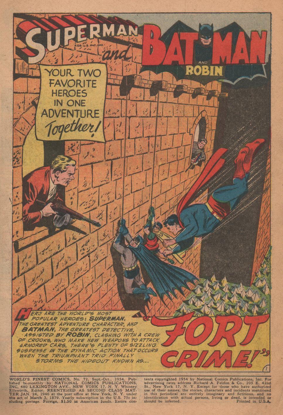 Read online World's Finest Comics comic -  Issue #72 - 3