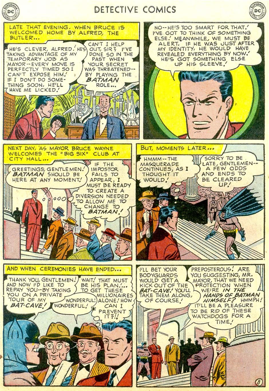 Read online Detective Comics (1937) comic -  Issue #179 - 10