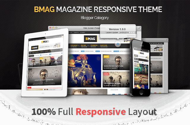 bmag шаблон для blogger