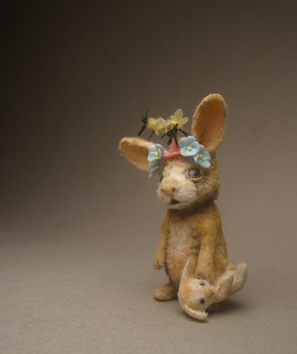 Aleah Klay Studio: Moved to an ebay auction: Miniature Rabbit w ...