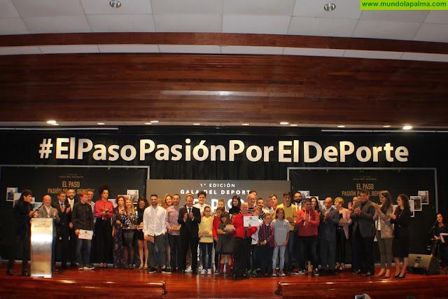 """Éxito de la I Gala """"El Paso Pasión por El Deporte"""" organizada por la Concejalía de Deportes del Ayuntamiento de El Paso"""